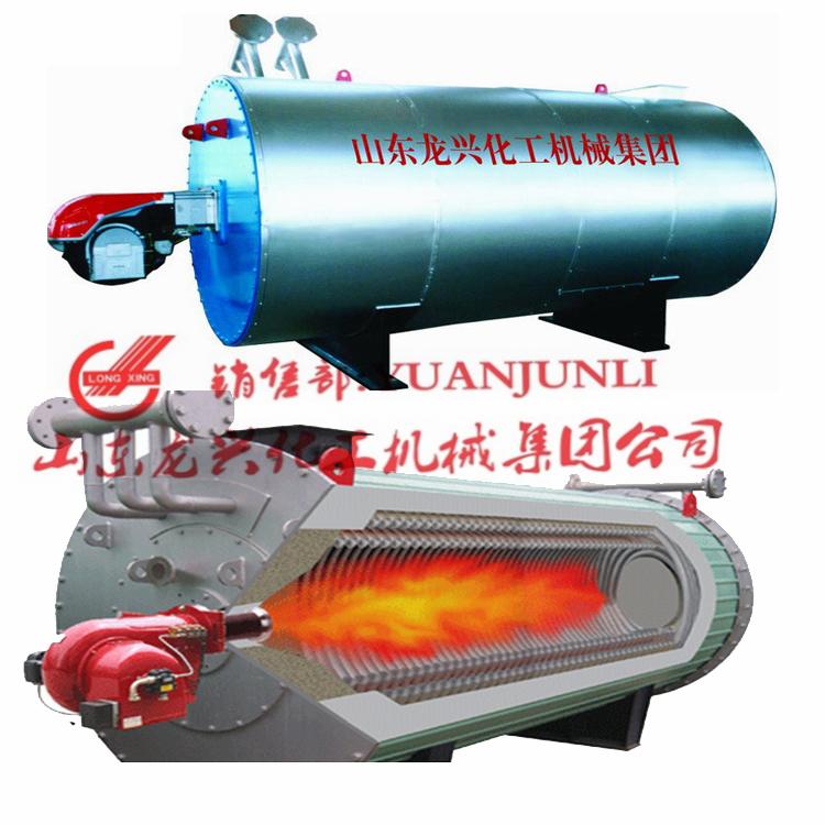 小规格卧式燃气导热油炉